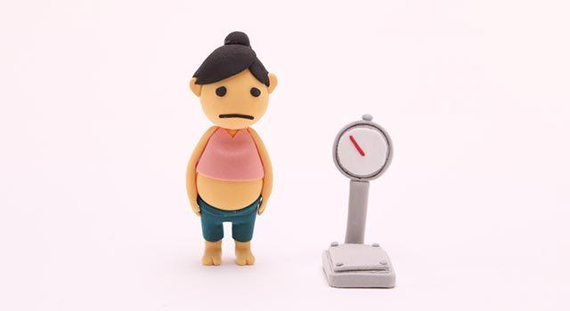 妊娠初期に体重が急増